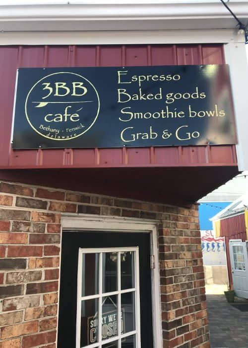 3bb Cafe Sign